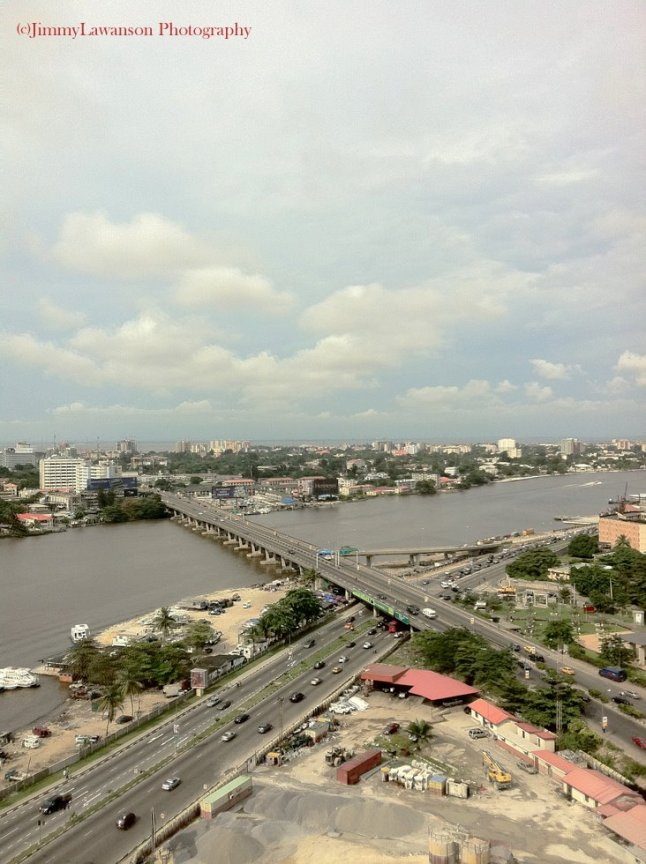 The city of Lagos